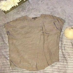 Tommy bahama silk short sleeve blouse